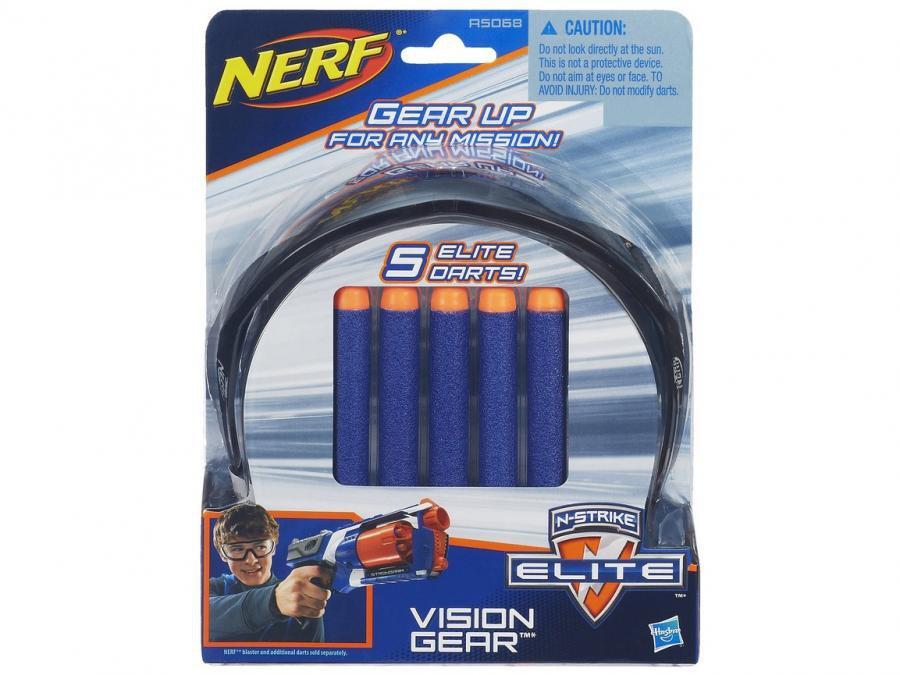 e8730a43ca6bd Shopping Smiles - Óculos Vision Gear e 5 Dardos Nerf N-Strike Elite ...