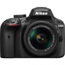 Câmera Nikon D3400 Com Lente 18 - 55mm Vr Af - P 7837013